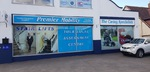 We Supplied and fitted all the Printed Window Graphics